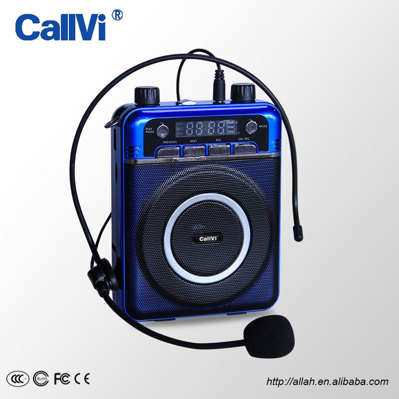 Hottest!!Wired/Wireless Portable Voice Amplifier with FM radio/TF /USB