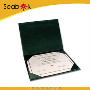 2015 Various Leather Covers Certificate Holder - Buy Certificate ...