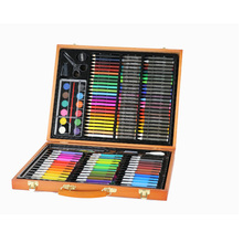 High Quality Art Set With Wood Box Stationery Set, Pencil And Crayon Drawing Set