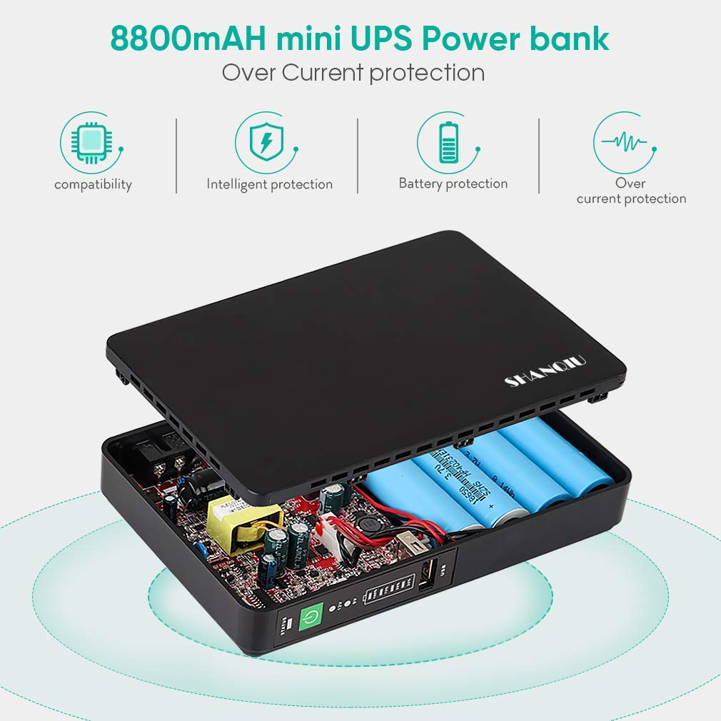12v dc mini ups with backup battery for access system