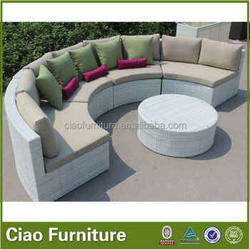 3af5bfcfb9bc Outdoor furniture turkish garden sofa furniture by rattan wicker material