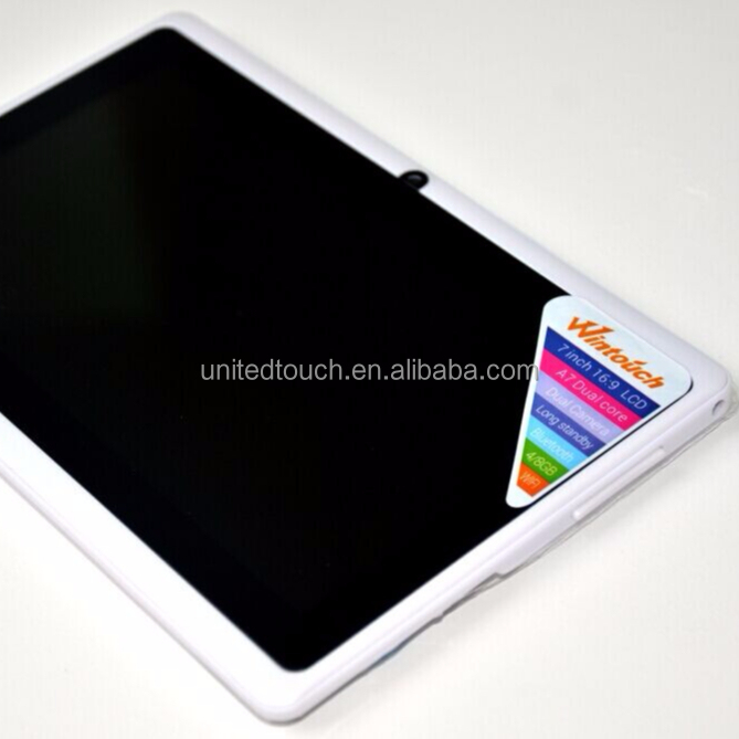 2018 Shenzhen Wintouch Dual Core WIFI 3G 1.2GMHZ Android 4.2 android tablet 3gb ram With ROM 8G