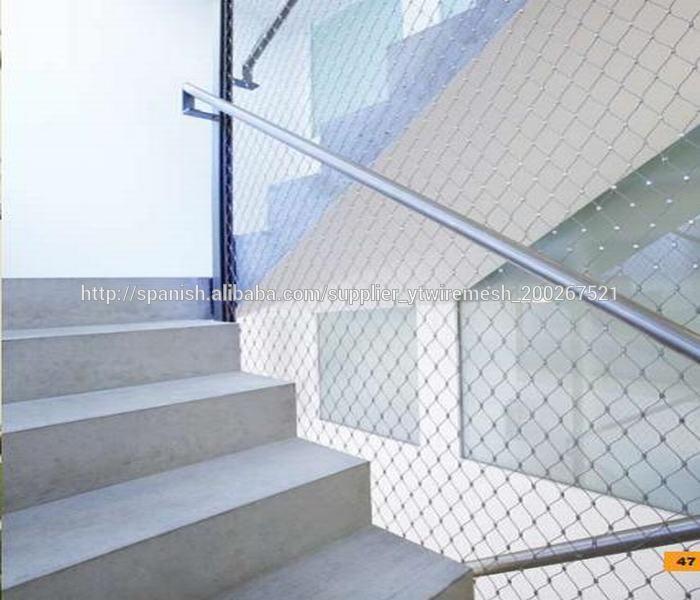 Malla de alambre tejido de acero inoxidable para la red de - Alambre de acero ...