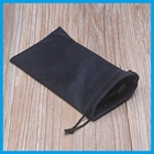 2016 microfiber pouch with drawstring to protect the surface of sunglass or lens or camera or phone