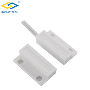 Magnetic Reed Switch Door Window Sensor Normally Closed Door Magnetic Contact For Alarm System