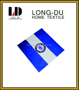 100% cotton classic chelsea football club flag printing bandana