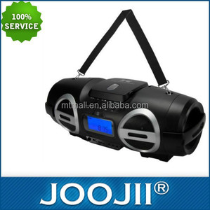 2015 NEW Digital Bluetooth CD BOOMBOX with Shoulder strap