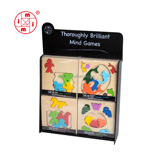 China cheap toy wood puzzle jigsaw puzzle board