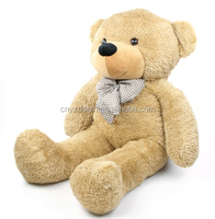 Free sample Big teddy bear 200cm 180cm 160cm 140cm 120cm 100cm 80cm EN71 stuffed teddy bear toys