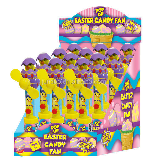 Easter Pop Up Candy Toy Fan
