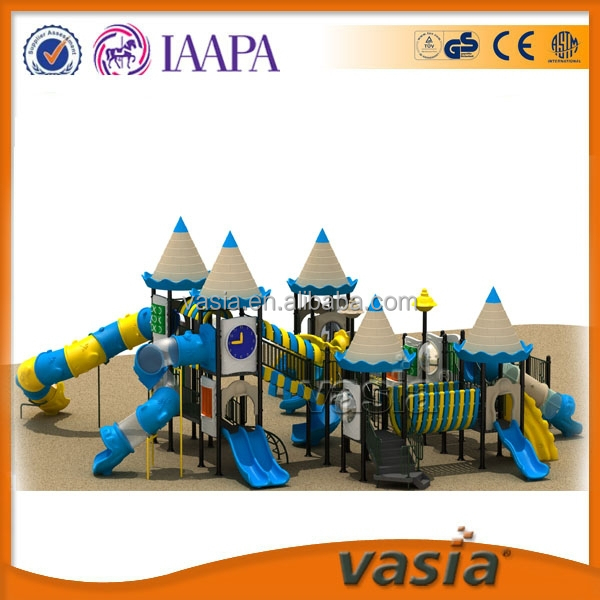 Kids Plastic Outdoor Climbing Frame Playground Children Game Slides ...