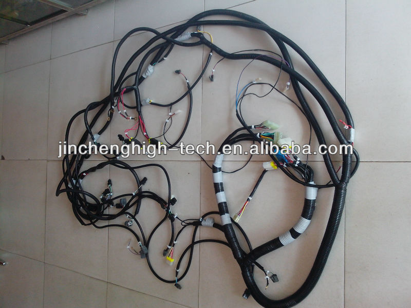 wiring harness manufacturers bangalore electric wiring harness manufacturers pc200 6 pc210 6 pc230 6 custom electric wire harness #3