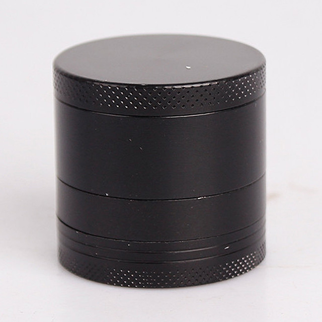 In stock four layser 40mm zinc alloy metal tobacco grinder accept custom logo