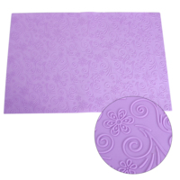 58*38cm lace silicone mat cake sugar craft baking mould silicone fondant mat cake decoration tools
