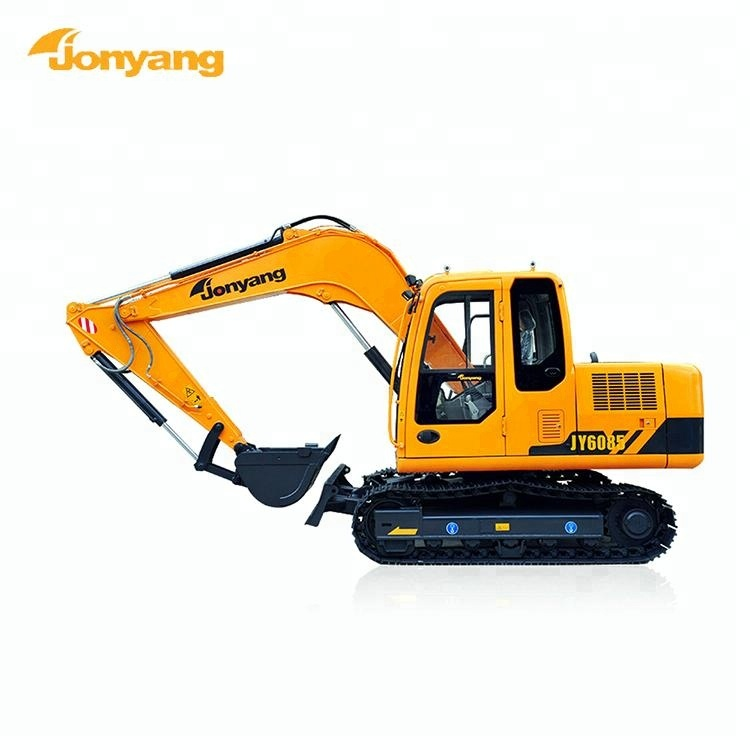 Cheap price safety 8.2 ton hydraulic small excavator