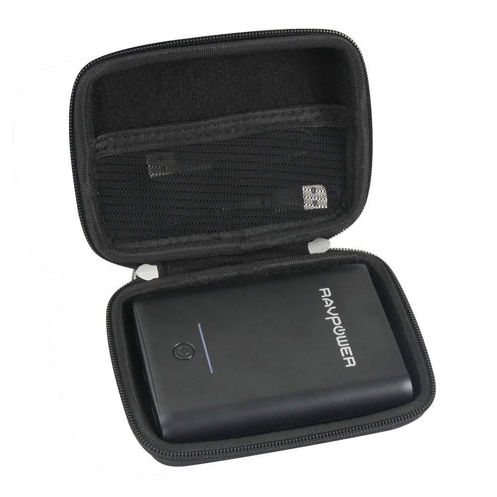 Adada Hard EVA Case Fits Portable Charger RAVPower 10000mAh / Ainope 10000mAh Power Bank Ultra-Compact 10000 Battery Pack