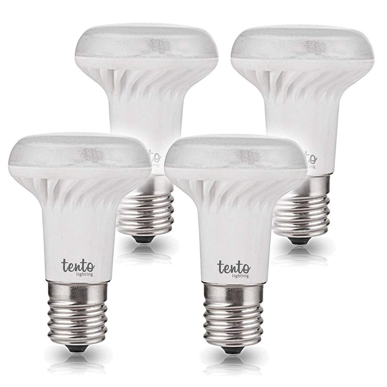 b53cc0a7335 Get Quotations · E17 Daylight LED Bulb R14 Reflectors R39 5000k 4w Dimmable  Intermediate Base LED Light Bulbs White