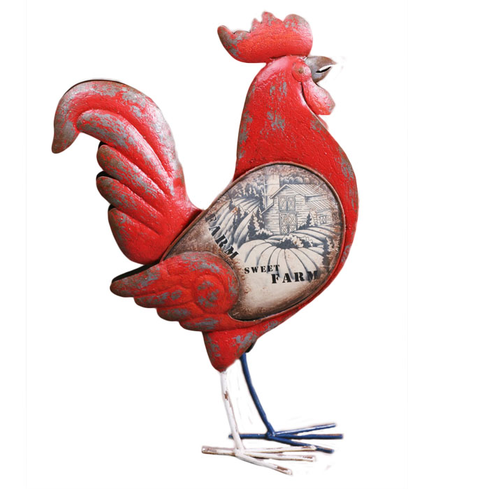 big red rooster designed - 700×700