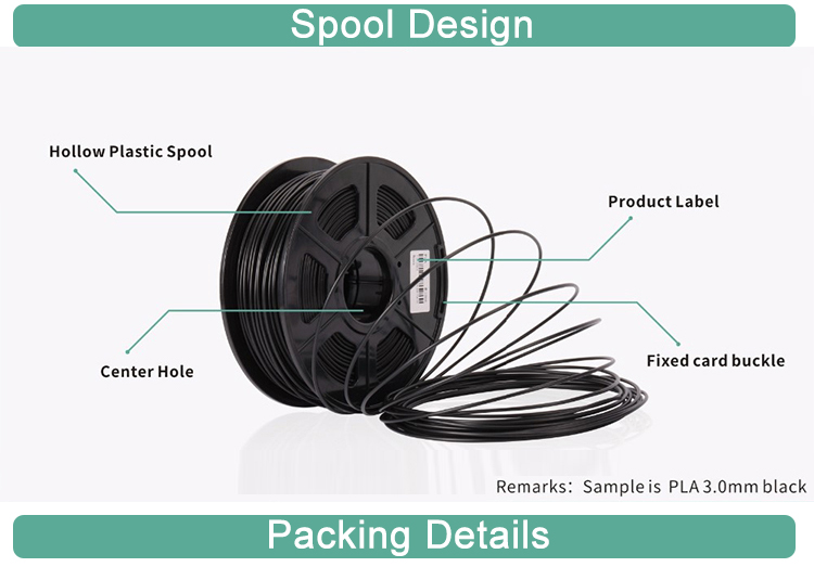 SUNLU 1.75mm abs pla pcl 3d printer filament for printing
