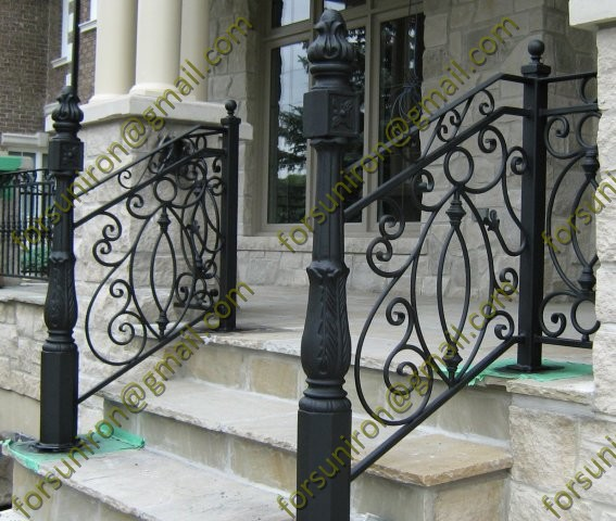 Wrought Iron Steps Suppliers And