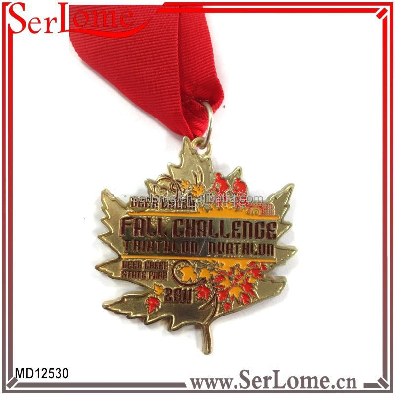 Blank trophies and medals with personlized logo box for medal