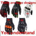 Carbon fiber protection shell Men s long refers to the motorcycle riding gloves