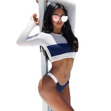 Hot Sale Women Swimwear Long Sleeve Mesh Swimsuit