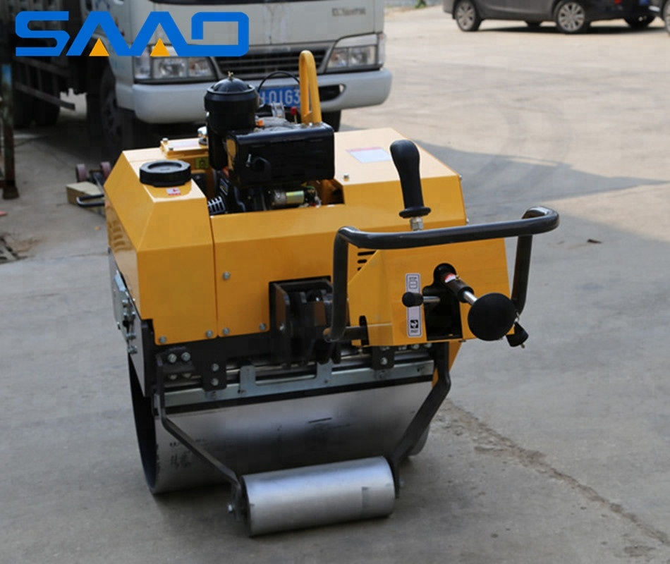 Mini Vibratory Compactor BOMAG Style Walk Behind Road Roller(SYL-750)