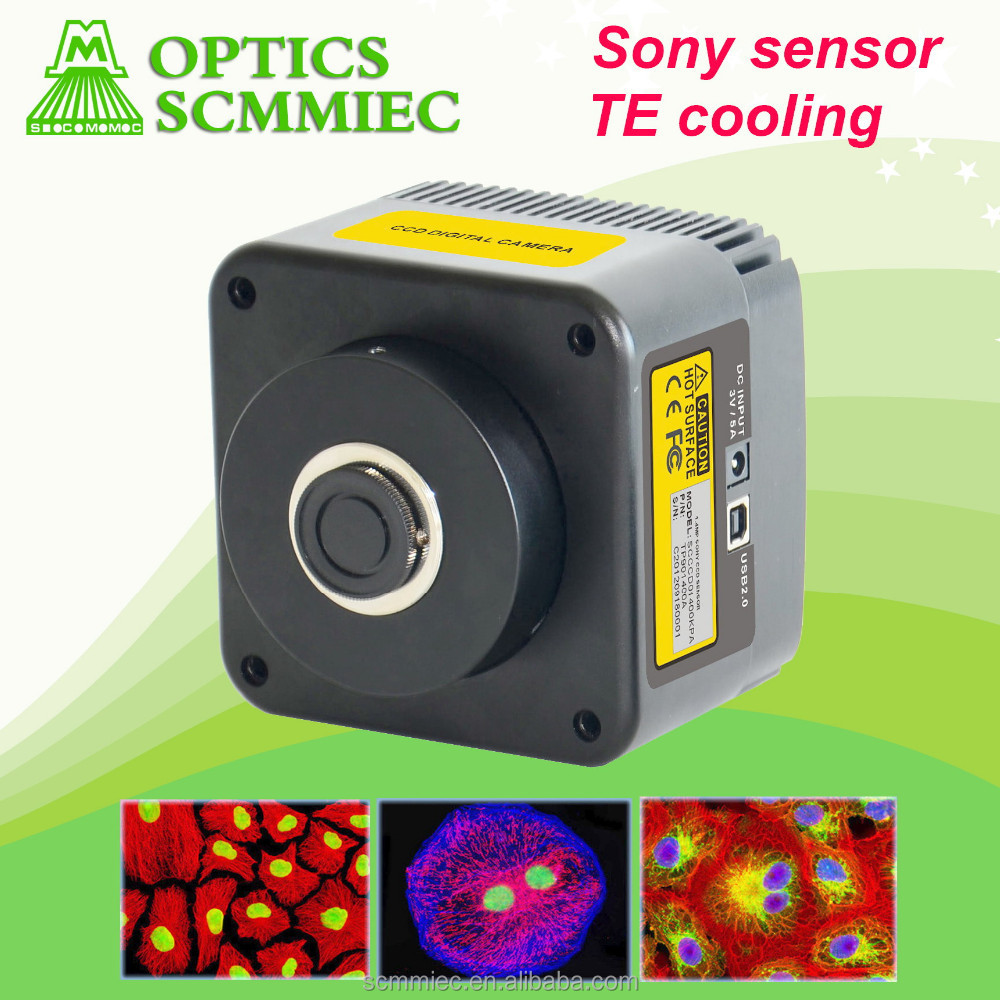SC-CCD semiconductor cooling Sony sensor digital color cooled CCD Camera