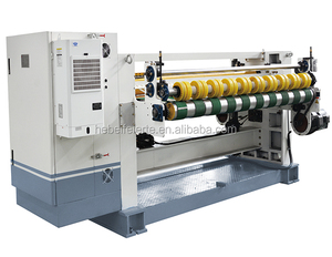 Fully Automatic Thin paper indentation slitter scorer machine for 3 5and 7 layer line