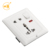 5 pin multi universal 1 gang 13 amp wall socket with switch