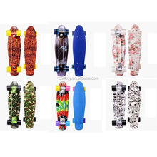 New graphic plastic complete cruiser skateboard for Christmas gifts