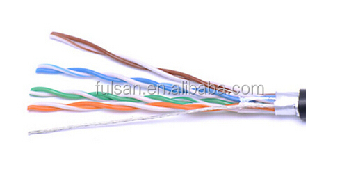 UTP CAT 6 LAN CABLE 4 PAIR 23AWG OUTDOOR UTP CABLE