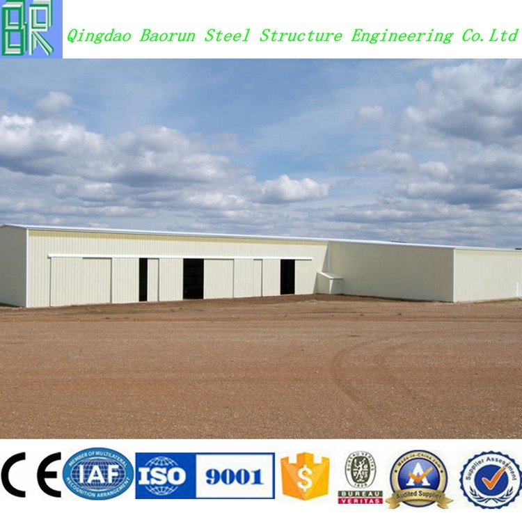 Low Price Prefab Steel Structure Hangar