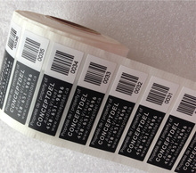 Customized Printing Private Labels Type Thermal Barcode Stickers