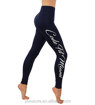 fde17494467f2 Latest Gym Workout Flex Womens Custom Word Printed Legging For Ladies Yoga  Pants