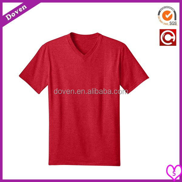cotton/spandex slim fit t-shirt for men