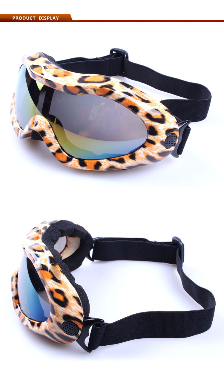 Latest windproof safety goggles cycling goggles motocross glasses with Soft TPU frame