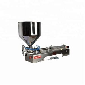 Single Head Horizontal Automatic Filling Machine with Funnel