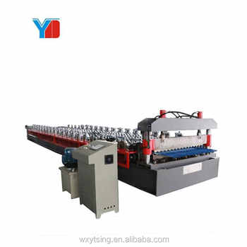 High Quality Rib Type Corrugated Color Roof Making Machine Manufacturer