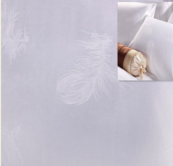 3.3m wide width jacquard cotton fabric large rolls for bed linen