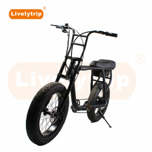 Super power model 73 fat tire electric motorcycle/green city bike
