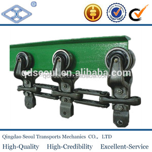 ISO standard conveyor drop trolley forged X458 conveyor chain