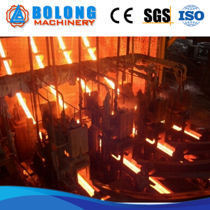 Well-Designed Steel Billet Continuous Casting Machine Steel Billet Rolling Machine