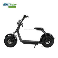 Adult citycoco portable battery electric scooter with VIN plate and COC,EEC certificate electric scooter