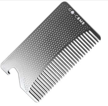 100 Boar Bristles Plemo Beard Brush For Mustache Grooming Styling With Metal Case