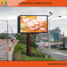Wireless 7 Segment Outdoor LED Building Background P10 Advertising LED Digital Number Display Screen