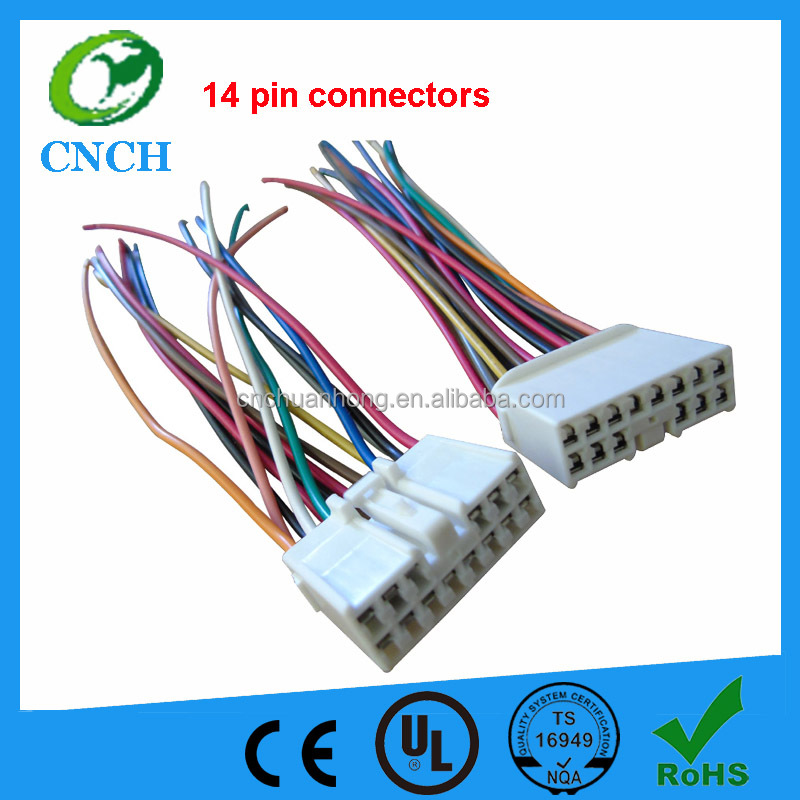 Door wiring harness 14 pin connectors for 14 pin connector, 14 pin connector suppliers and manufacturers at  at mifinder.co