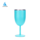 400 ml Premium Grade Stainless Steel Glasses Double-Walled Insulated Unbreakable Goblets Wine Tumbler 18/8 18/0
