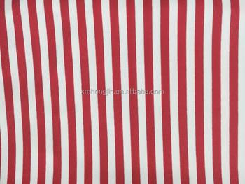 Popular Red White Striped Nylon Fabric For Swimwear Buy Spandex